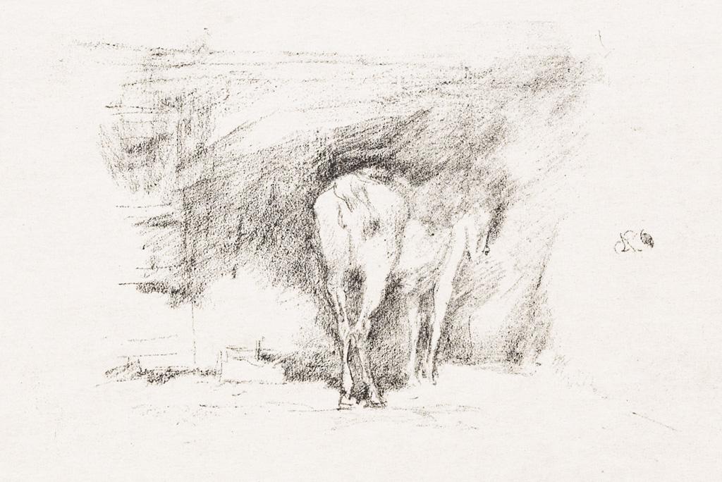 JAMES-A-M-WHISTLER-Study-of-a-Horse