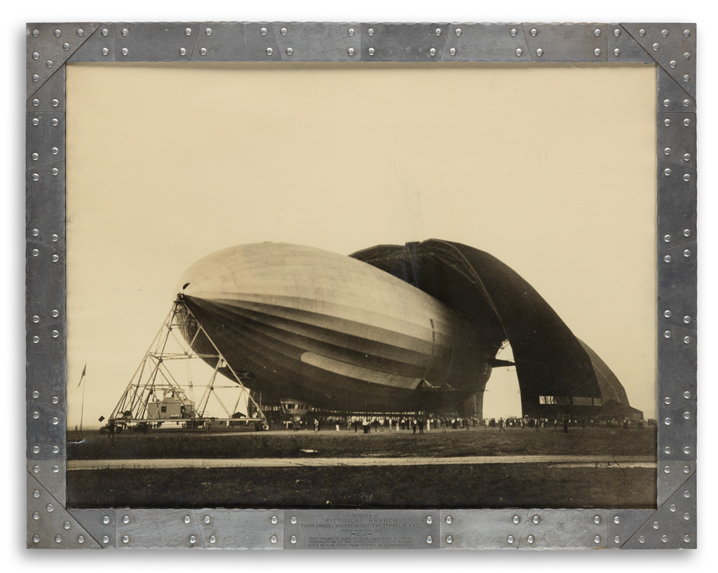 MARGARET BOURKE-WHITE (1904-1971) U.S.S. Akron, Worlds Largest Airship.