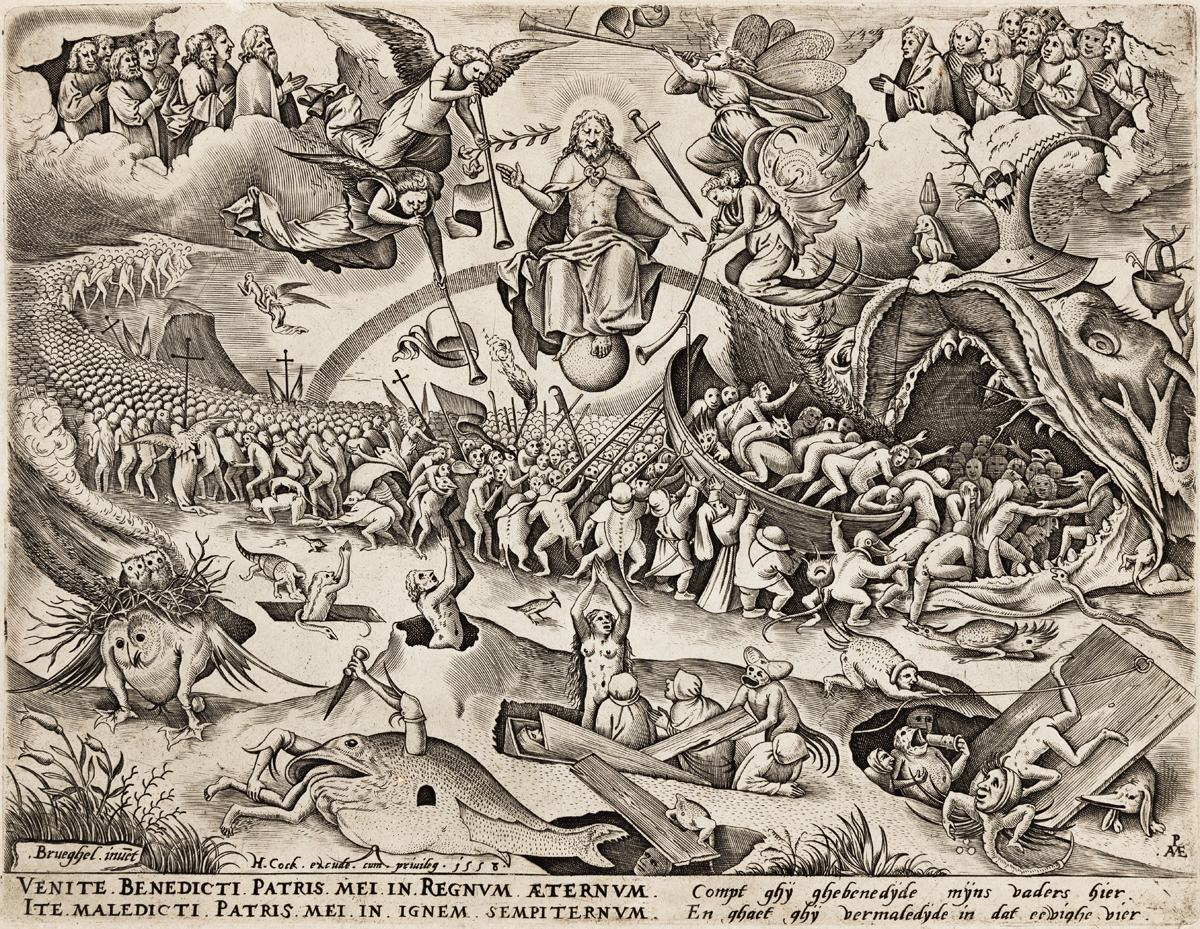PIETER BRUEGEL (after) The Last Judgment