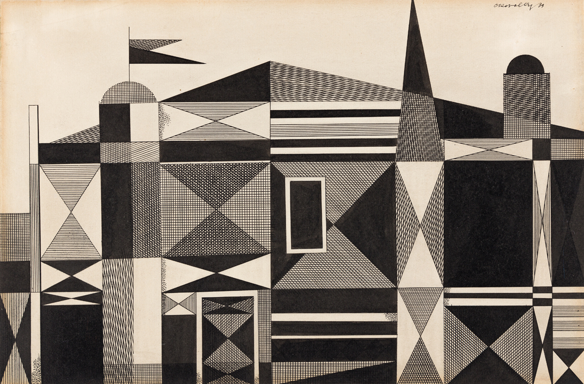 CARL HOLTY (1900 - 1973, AMERICAN) Untitled.