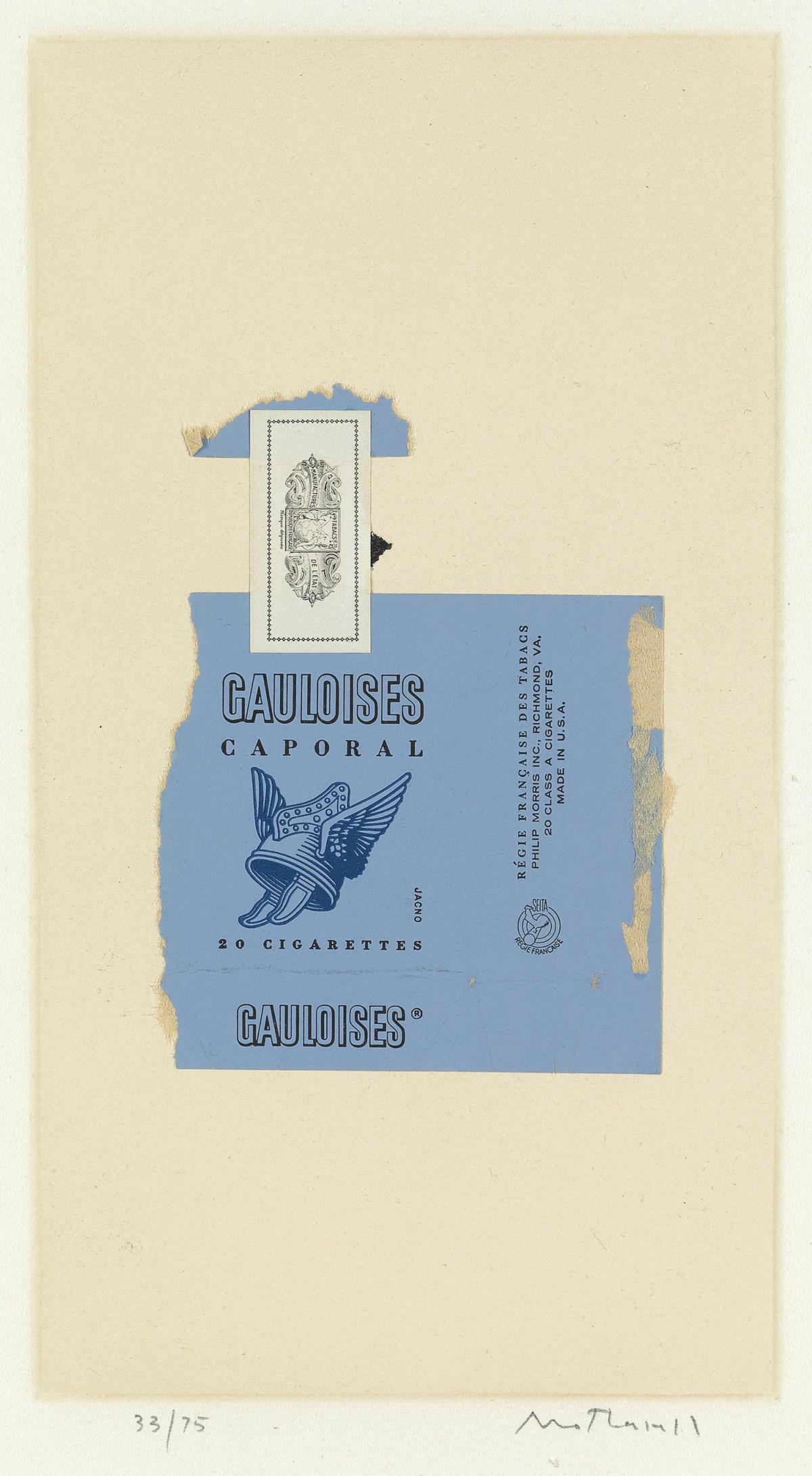 ROBERT-MOTHERWELL-Gauloises-Bleues
