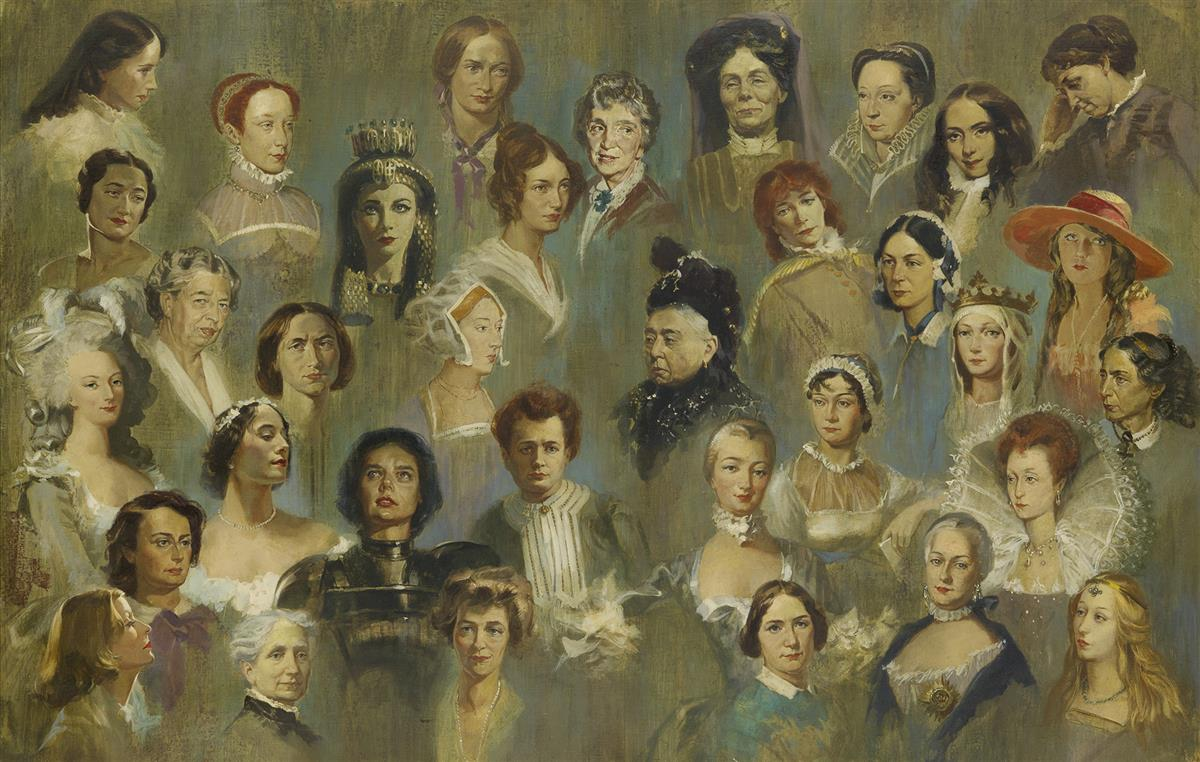 STANLEY MELTZOFF. Eminent Women.