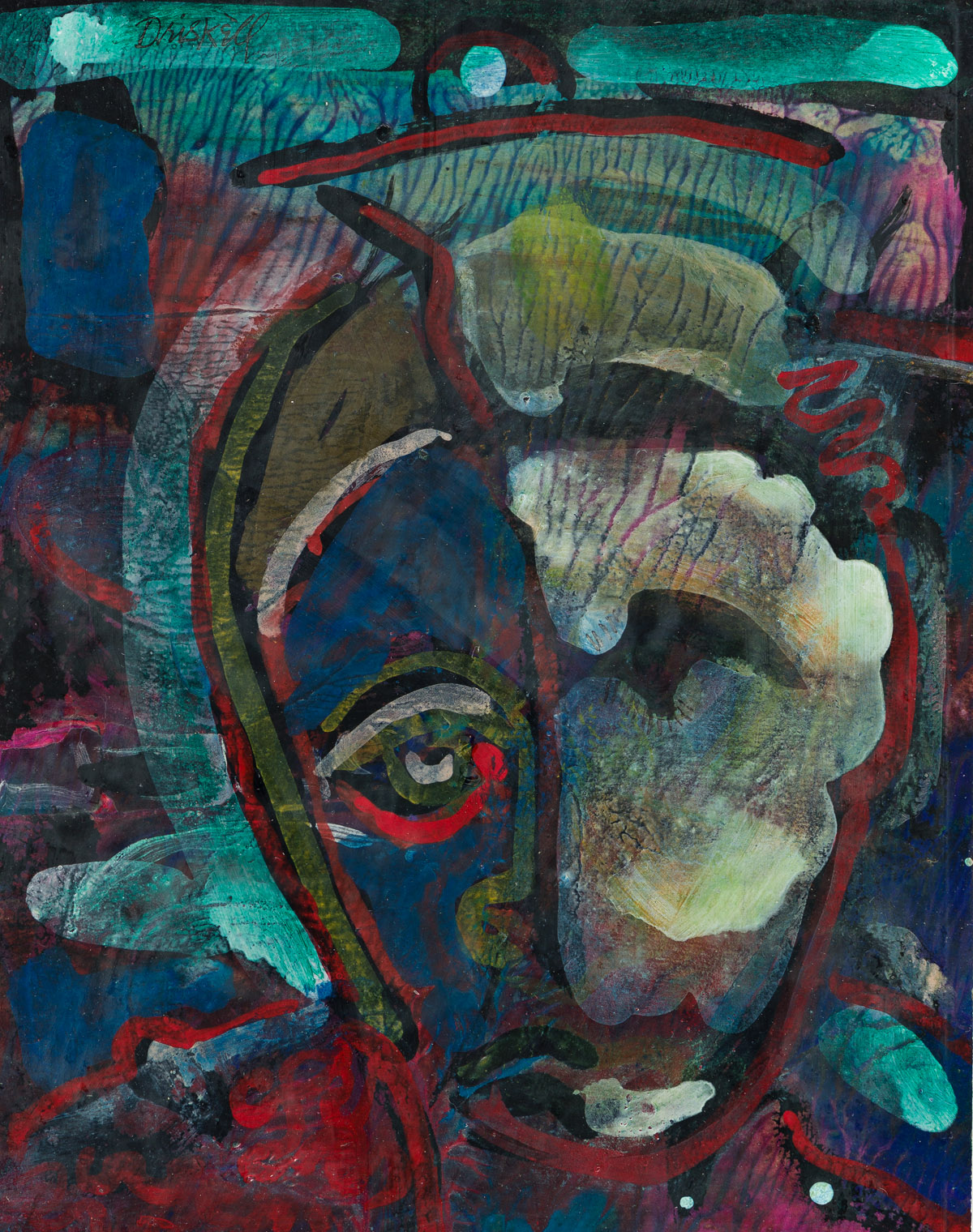 DAVID DRISKELL (1931 - 2020) The Ghost.