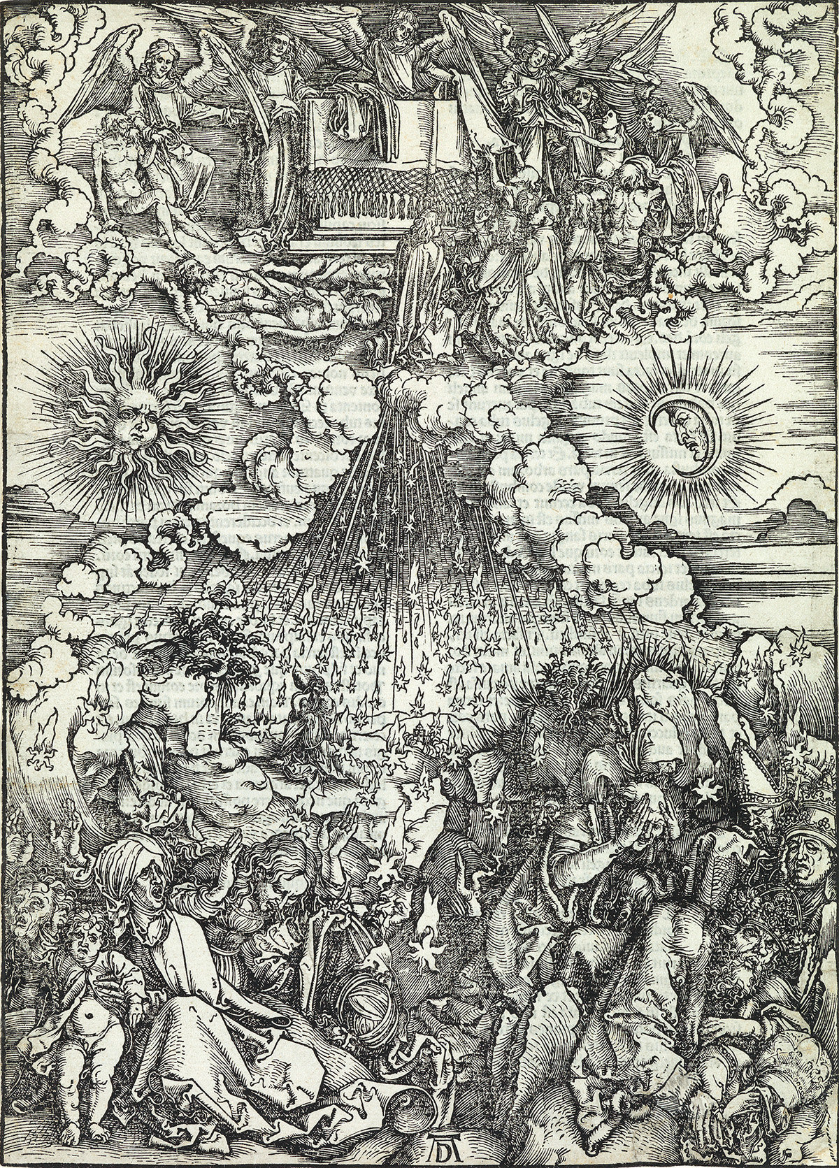 ALBRECHT DÜRER The Opening of the Fifth and Sixth Seal.
