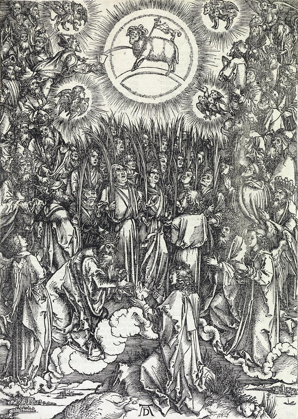 ALBRECHT-DÜRER-The-Adoration-of-the-Lamb