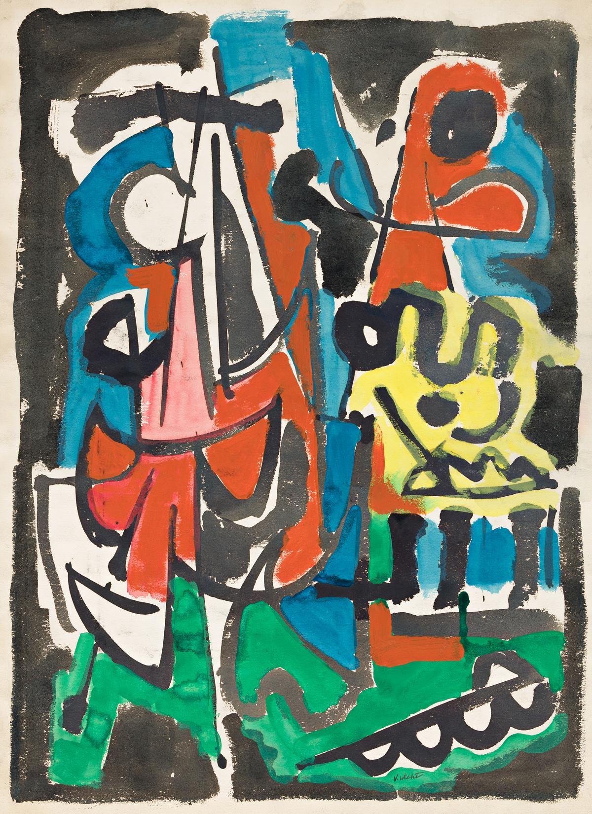 JOHN VON WICHT (1888 - 1970, GERMAN/AMERICAN) Untitled.