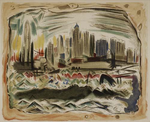 JOHN-MARIN-(AFTER)-Manhattan-Skyline
