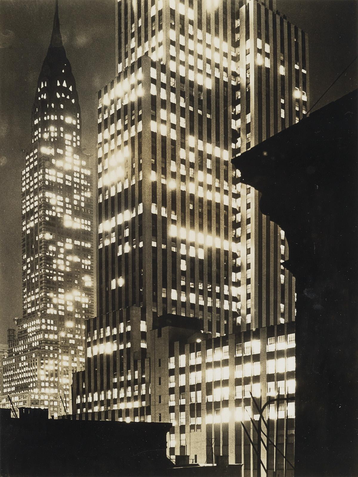ANDREAS-FEININGER-(1906-1999)-Chrysler-Building-(Lights-of-P