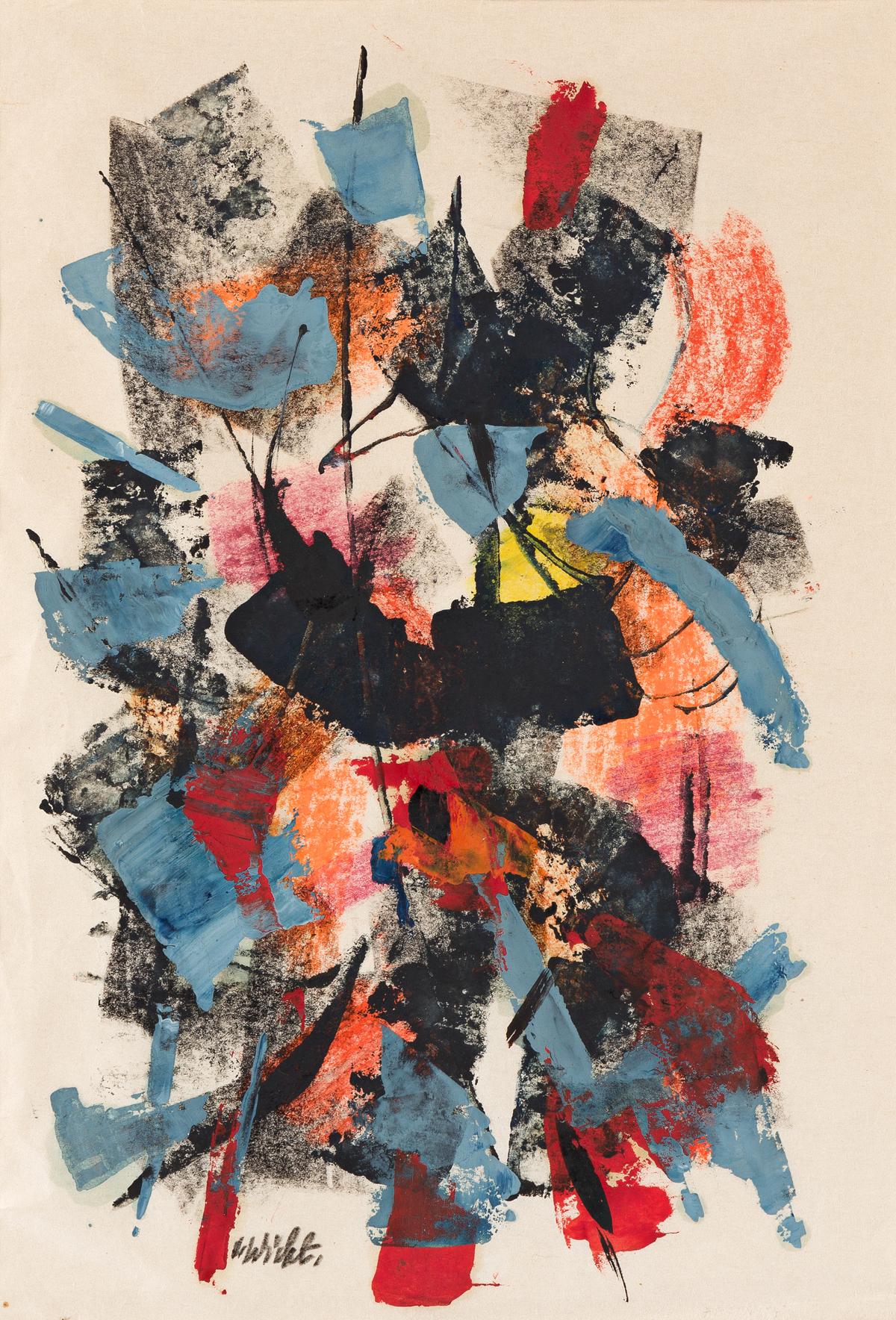 JOHN VON WICHT (1888 - 1970, GERMAN/AMERICAN) Untitled, (Pair).