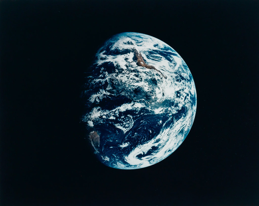 (SPACE EXPLORATION) Whole Earth.