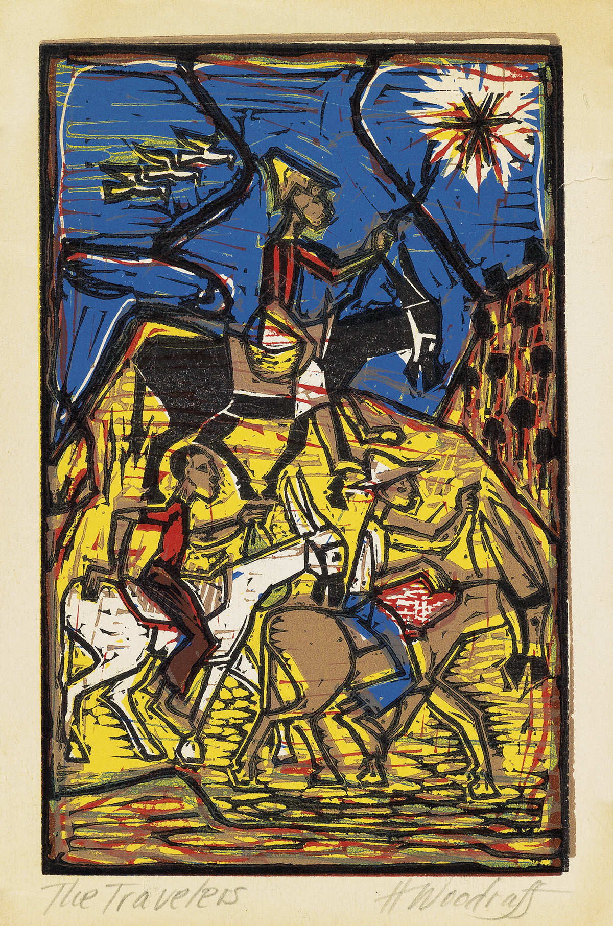 HALE-WOODRUFF-(1900---1980)-The-Travelers