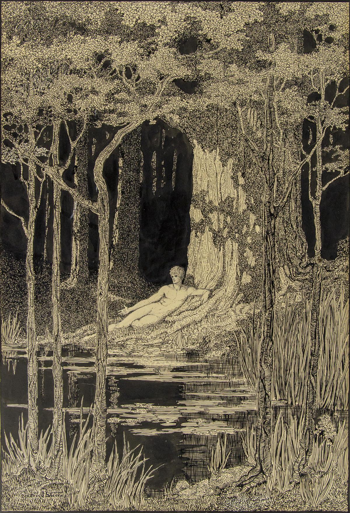 BEATRICE STEVENS. Four Oaks: II. Andante. [MUSIC / NUDE / SCRIBNERS]