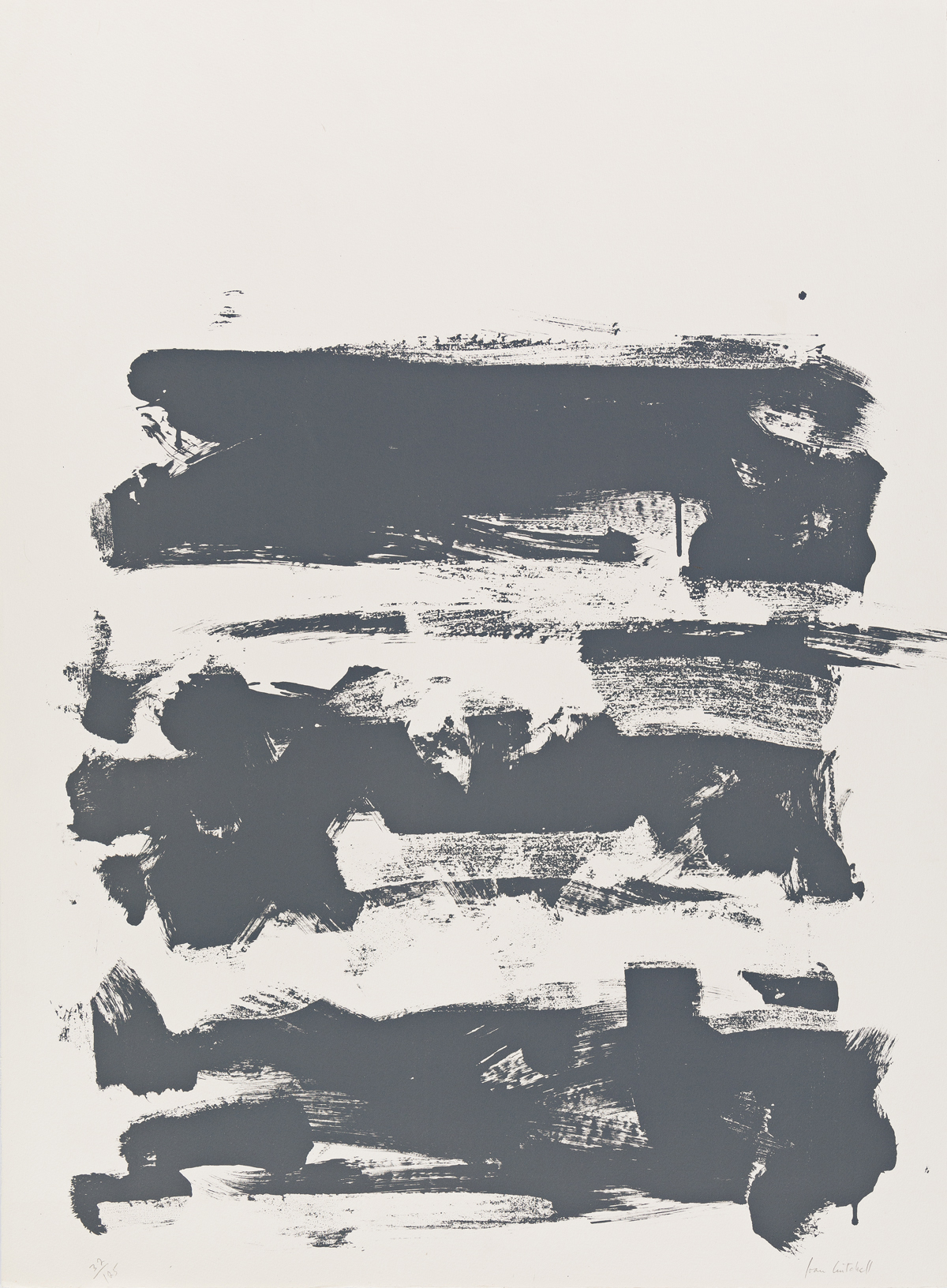 JOAN MITCHELL Champs (Grey).