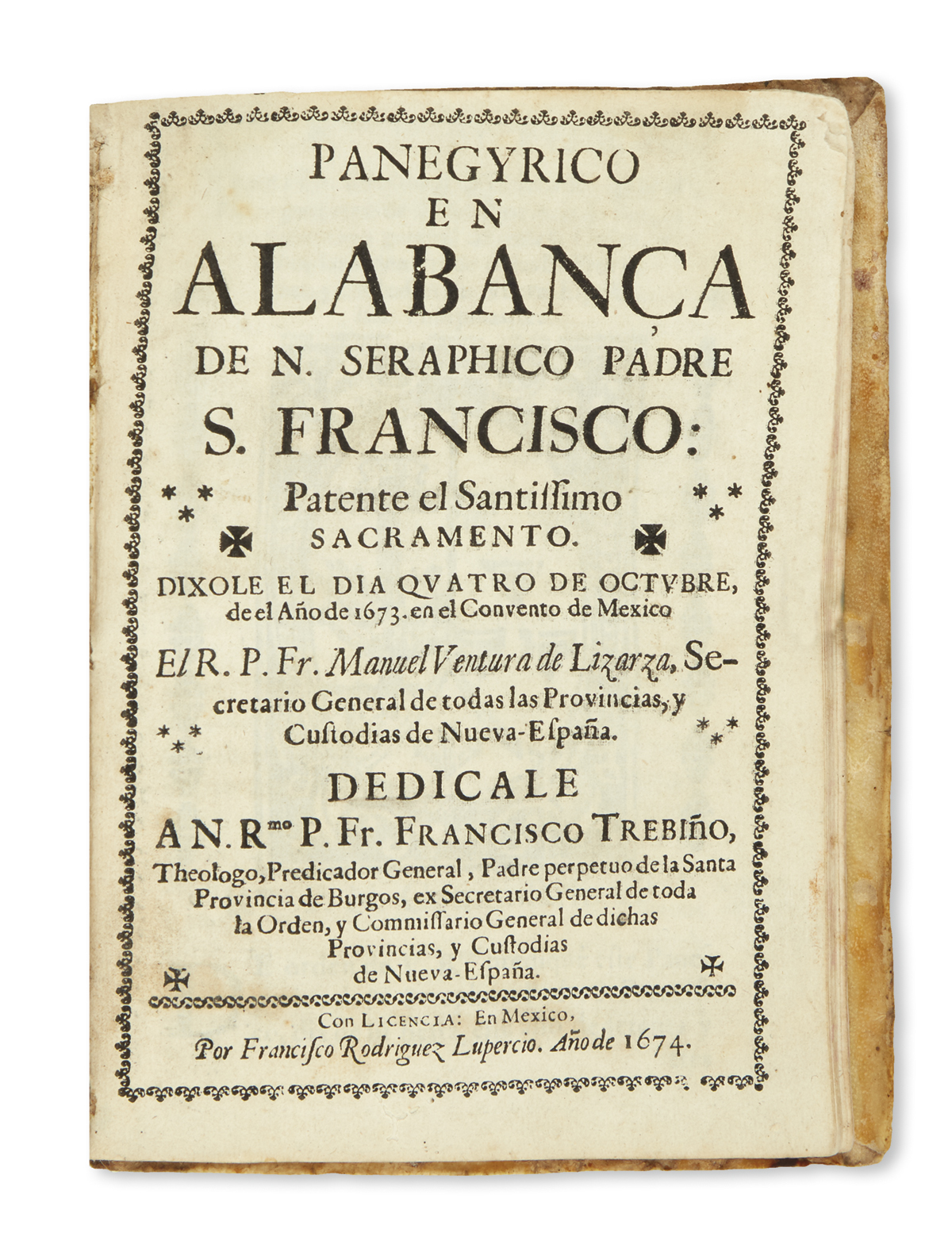 (MEXICAN-IMPRINTS--1674)-Bound-volume-of-11-sermons