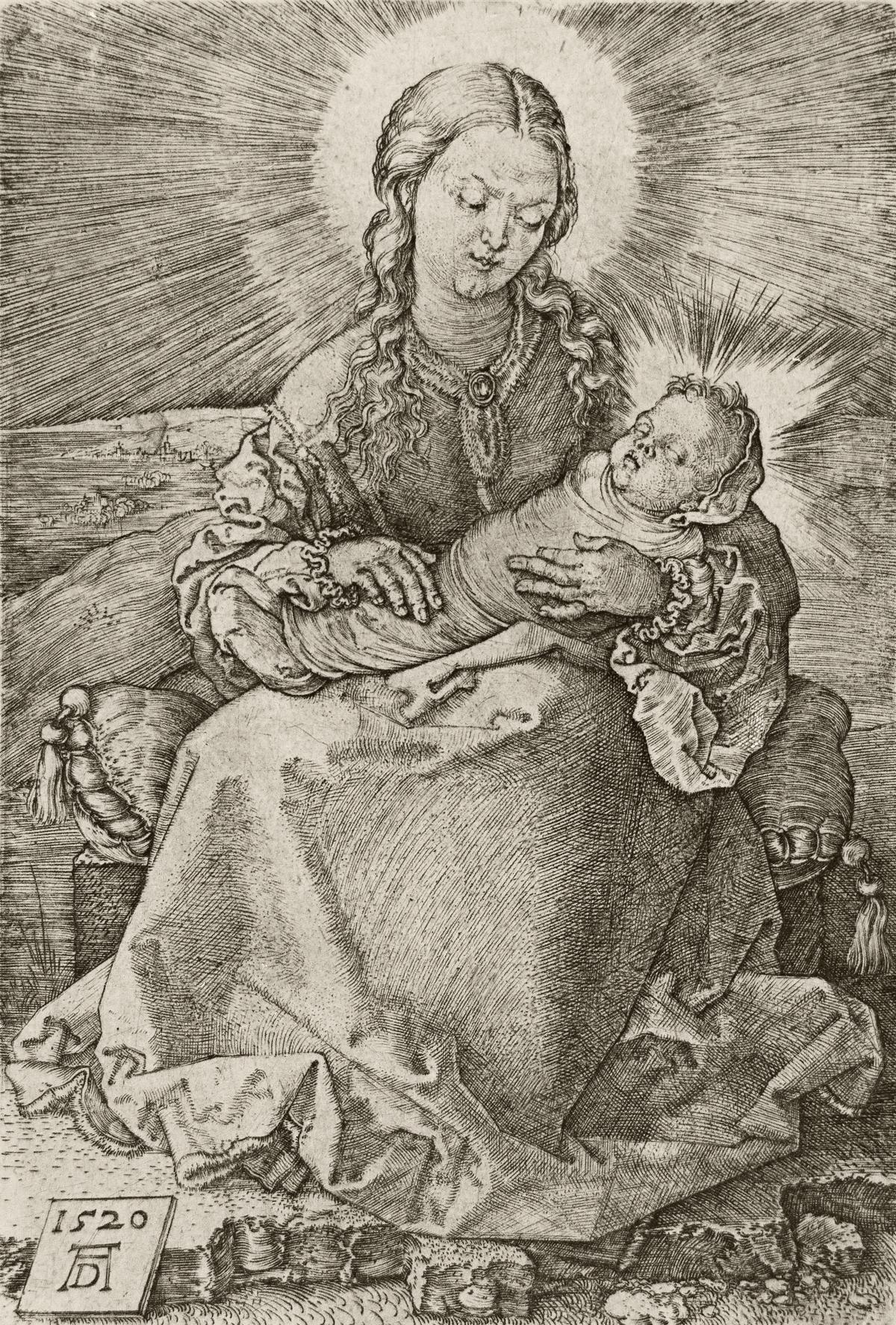 ALBRECHT DÜRER Virgin with the Swaddled Child.