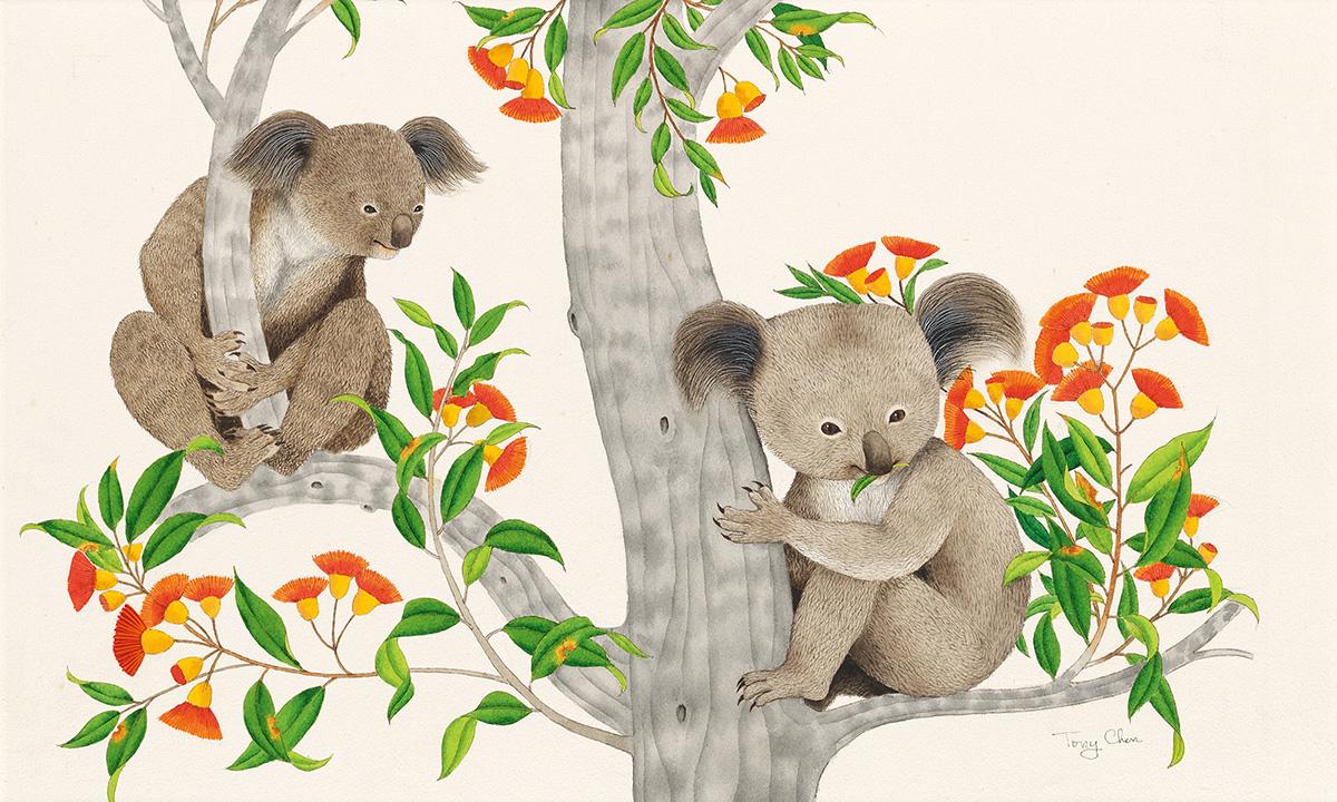 TONY CHEN (1929- ) Little Koala. [CHILDRENS]