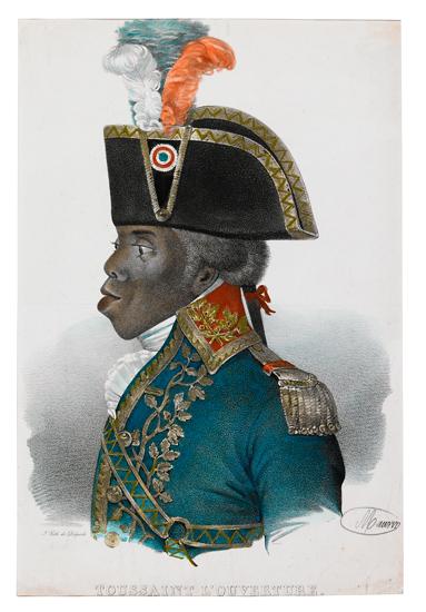 (HAITI.) LOUVERTURE, TOUSSAINT. Toussaint LOuverture.