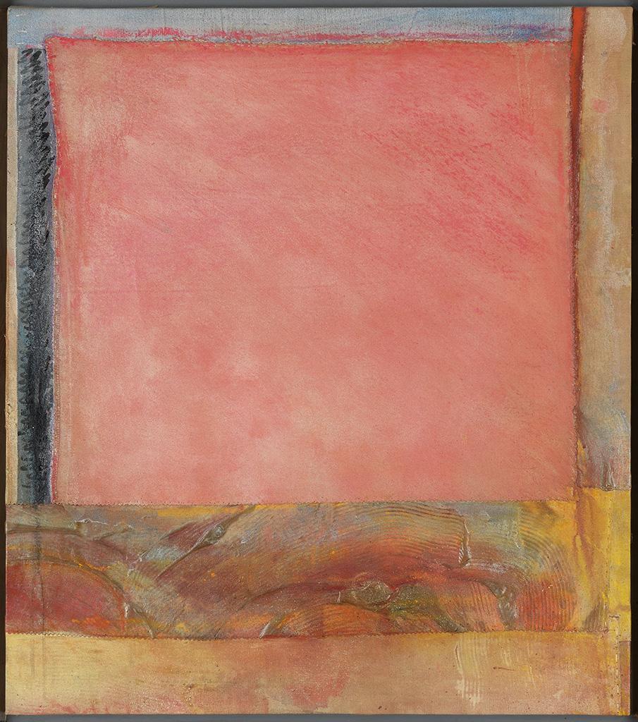 FRANK BOWLING (1936 -   ) Pink Plain 2.