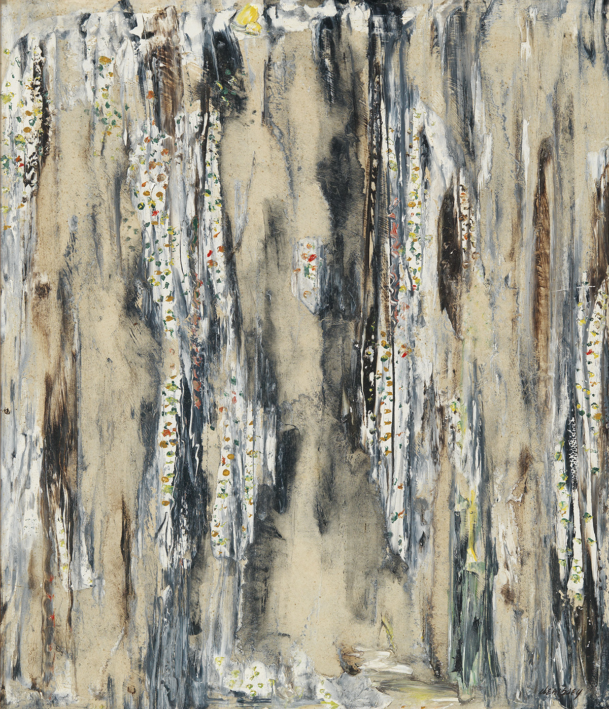 RICHARD-DEMPSEY-(1909---1987)-Untitled-(Abstraction)