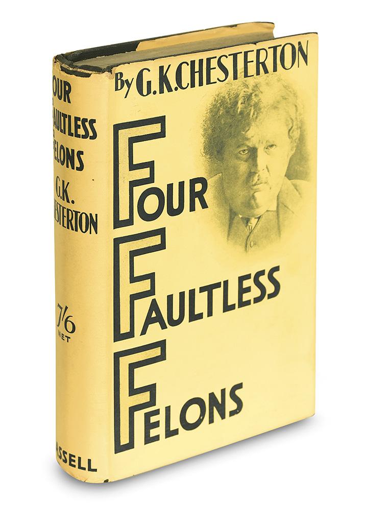CHESTERTON-G-K-Four-Faultless-Felons