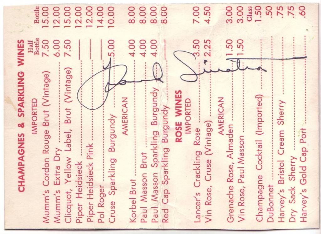 SINATRA-FRANK-Signature-on-a-wine-list-from-the-Dunes-club-i