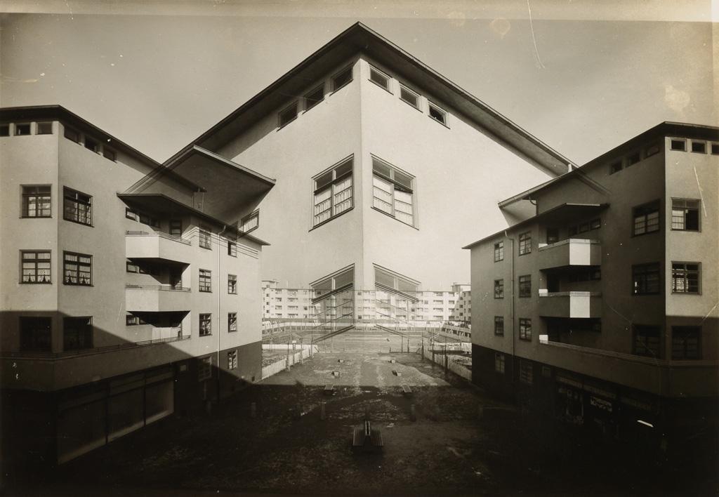 WERNER MANTZ (1901-1983) Köln, Germany (double exposure).