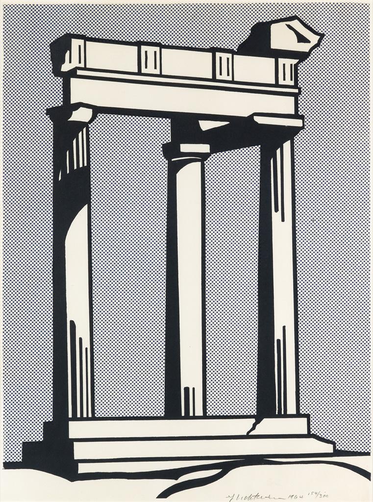 ROY LICHTENSTEIN Temple.
