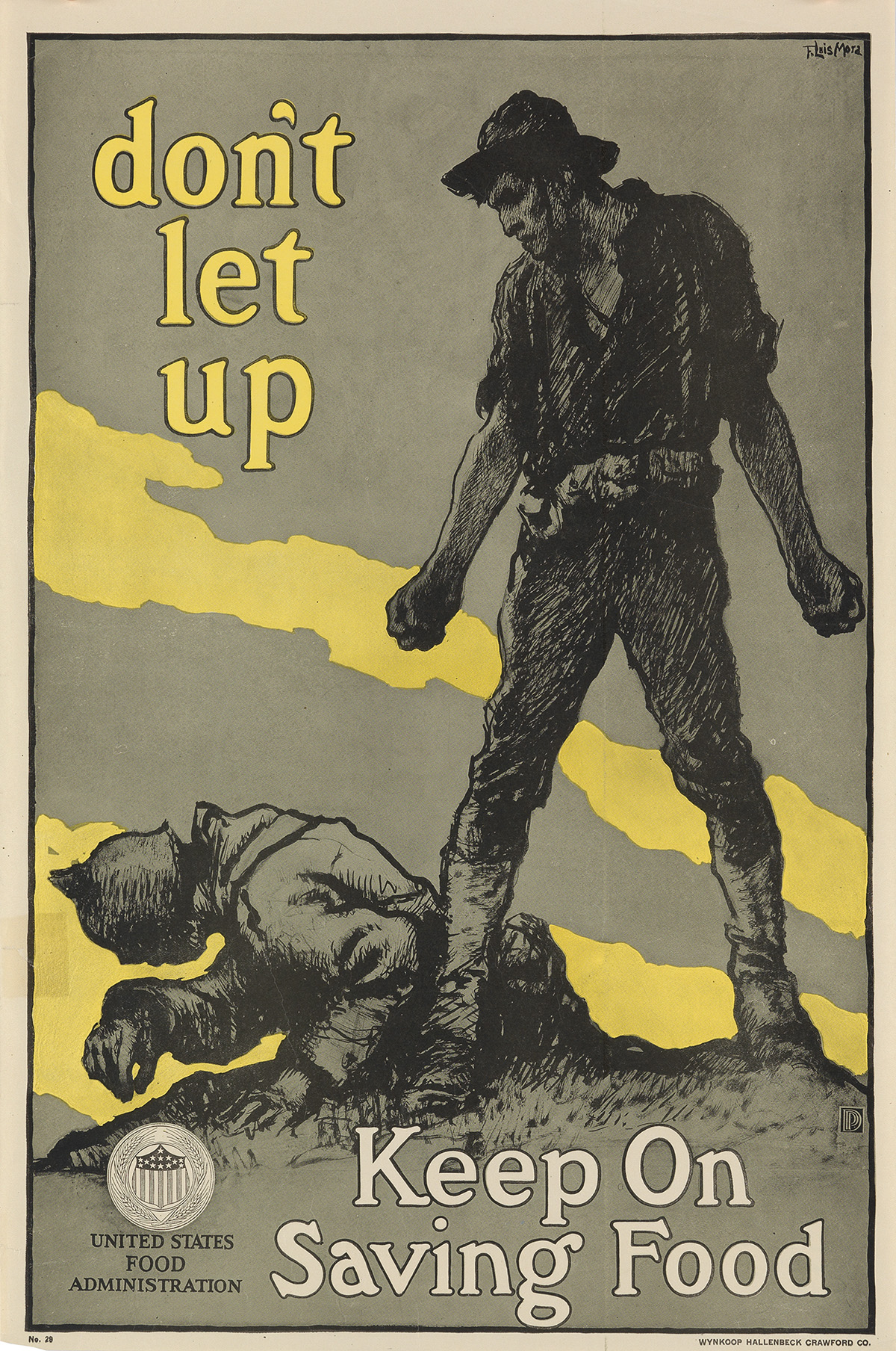 VARIOUS ARTISTS. [WORLD WAR I.] Group of 29 posters. Sizes vary.