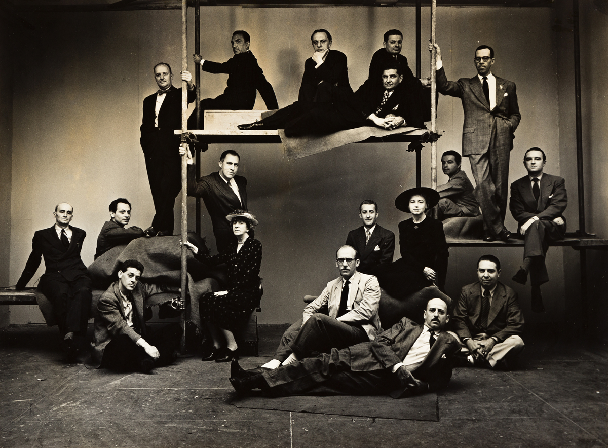 IRVING PENN (1917-2009) The New Yorker Cartoonists.
