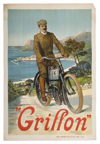 HUGO-DALESI-(1849-1906)-GRIFFON-1905-49-x-33-inches-Griffon-