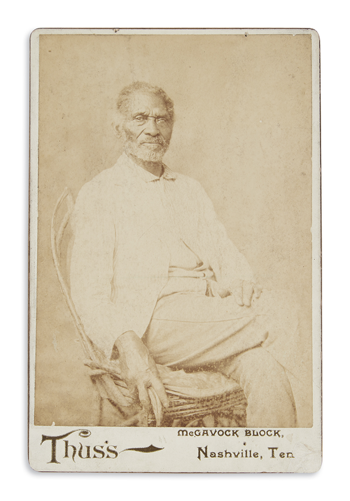 (SLAVERY-AND-ABOLITION)-Thuss;-photographer-Cabinet-card-por