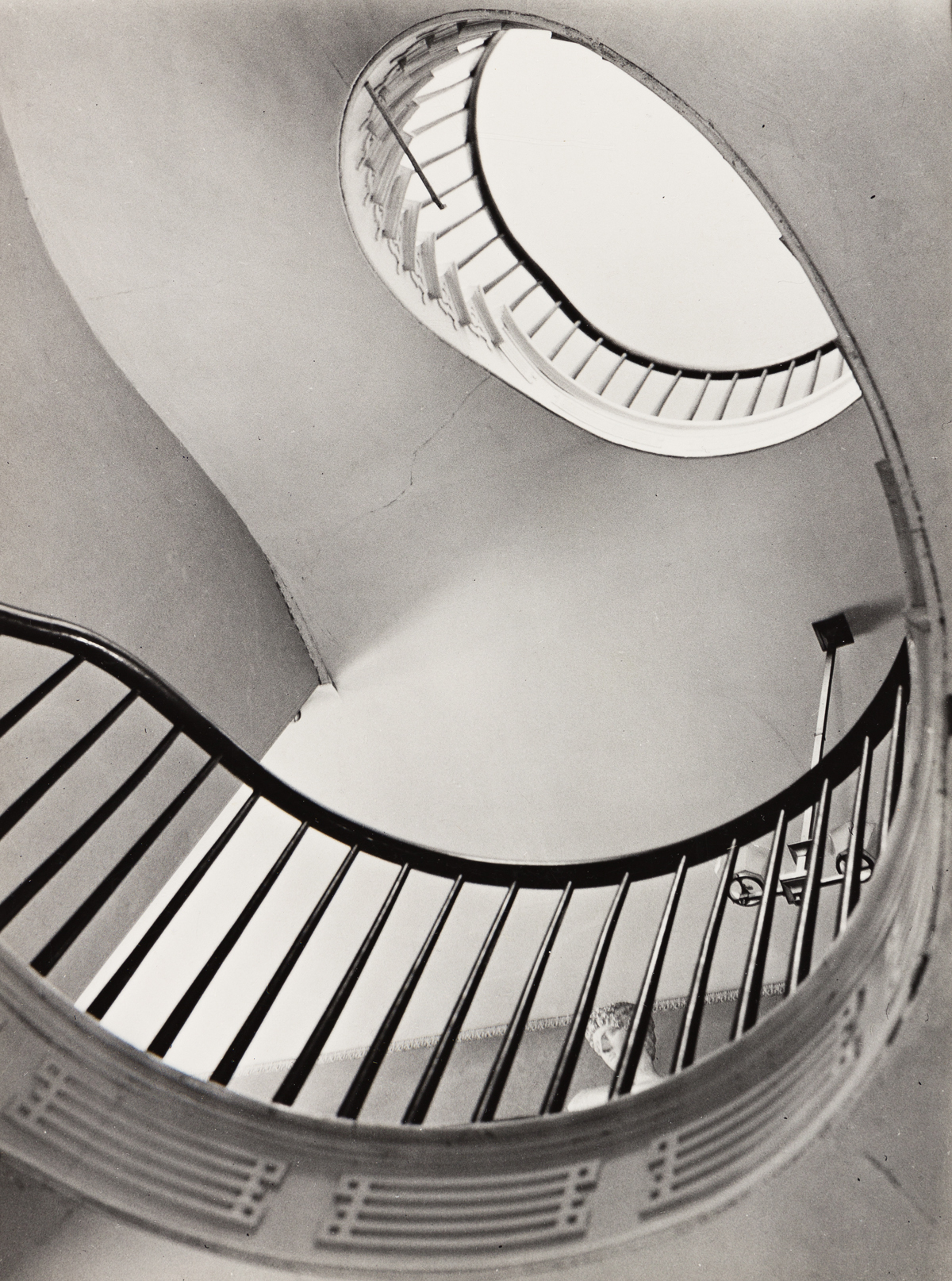 CLARENCE JOHN LAUGHLIN (1905-1985) The Magnificent Spiral.