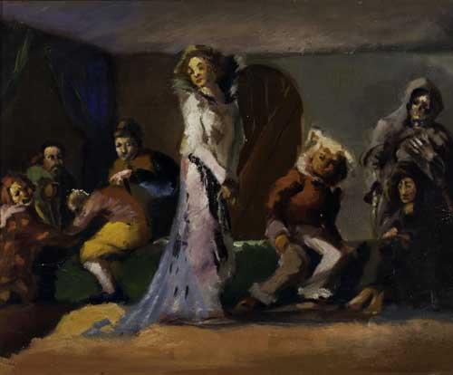 JAMES-A-PORTER-(1905---1970)-The-Masquerade