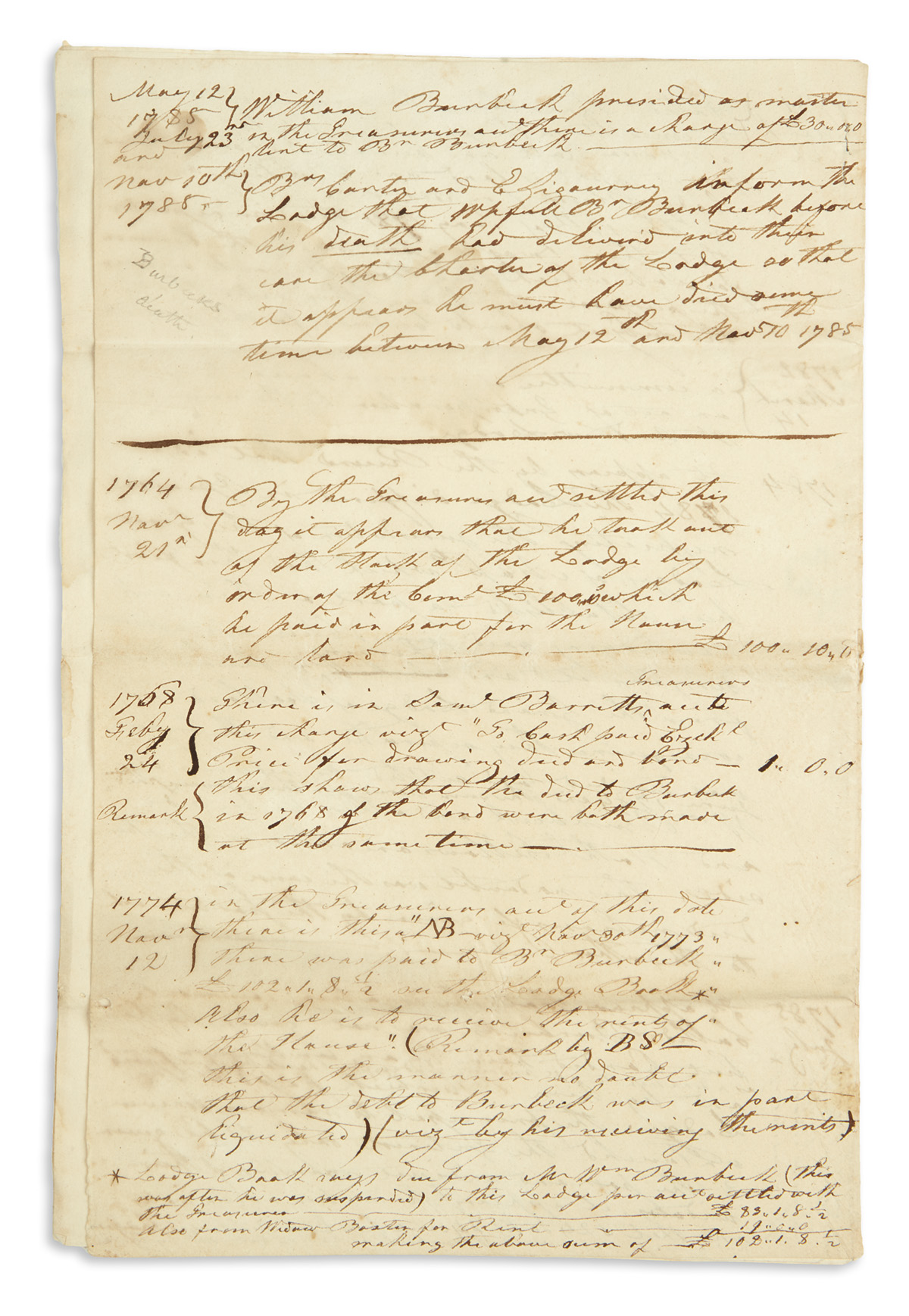 (AMERICAN-REVOLUTION--PRELUDE)-Manuscript-notes-on-St-Andrew