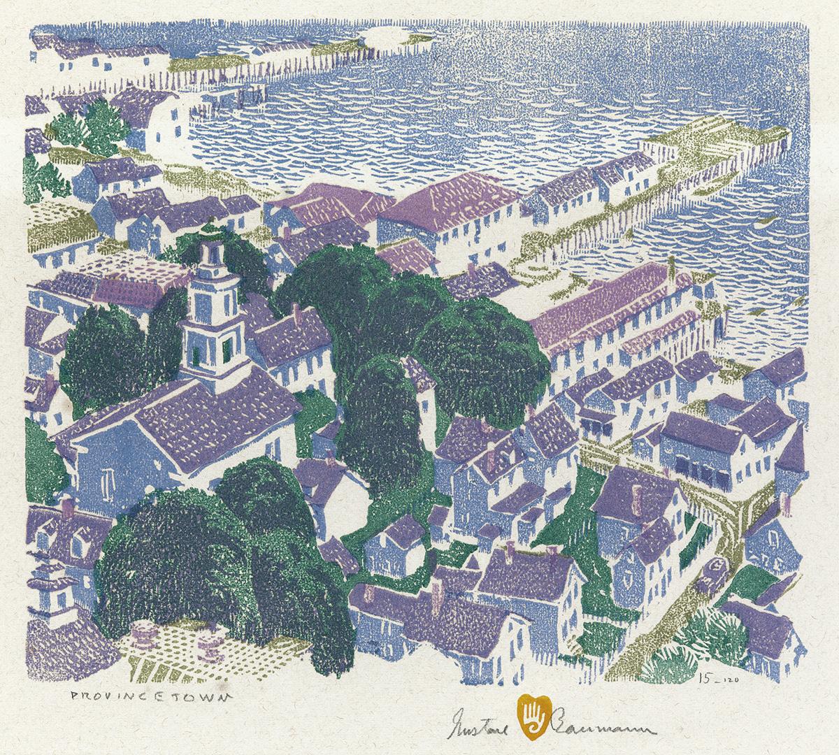 GUSTAVE BAUMANN Provincetown.