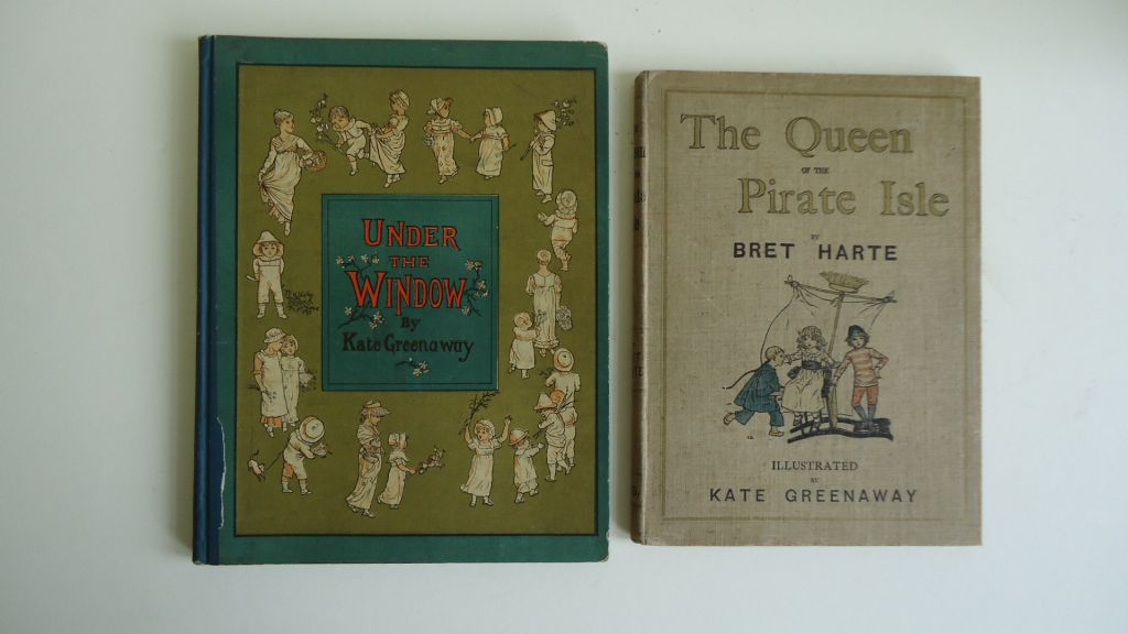 (CHILDRENS-LITERATURE)-(Greenaway-Kate)-Harte-Bret-The-Queen-of-the-Pirate-Isle