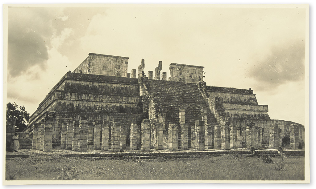 (GUATEMALA.) Archive of Elizabeth Turner Millers two extended tours of the Mayan ruins.