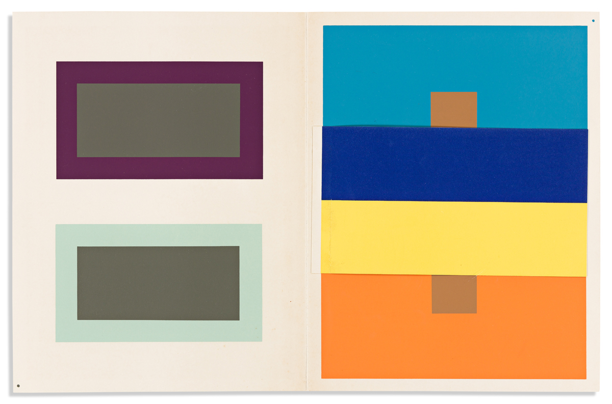 ALBERS, JOSEF. Interaction of Color.