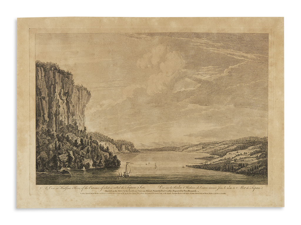 POWNALL, THOMAS, after. Group of six engraved views from Scenographia Americana.
