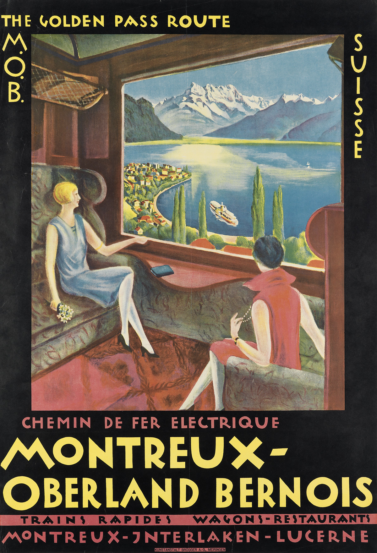 DESIGNER-UNKNOWN-THE-GOLDEN-PASS-ROUTE--MONTREUX---OBERLAND-