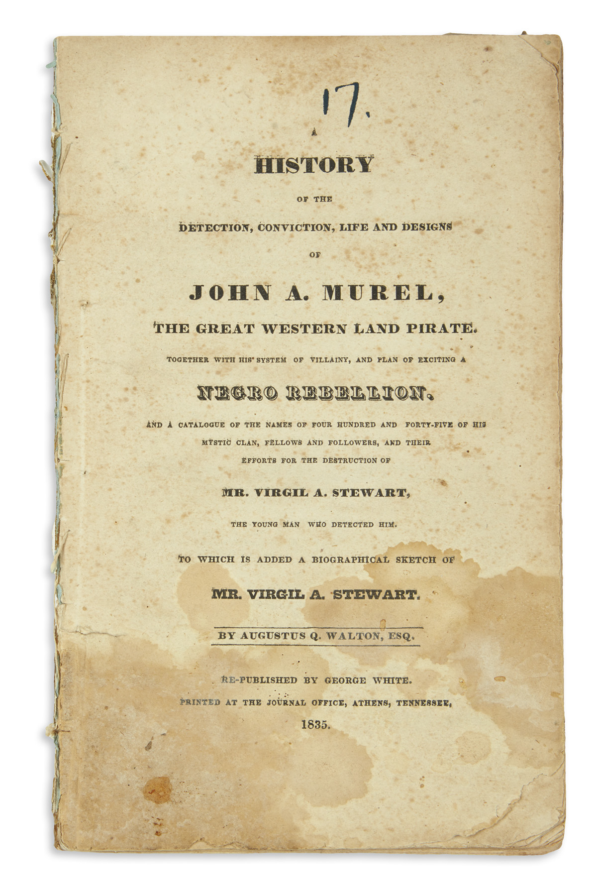 (SLAVERY-AND-ABOLITION)-Walton-Augustus-Q-A-History-of-the-D