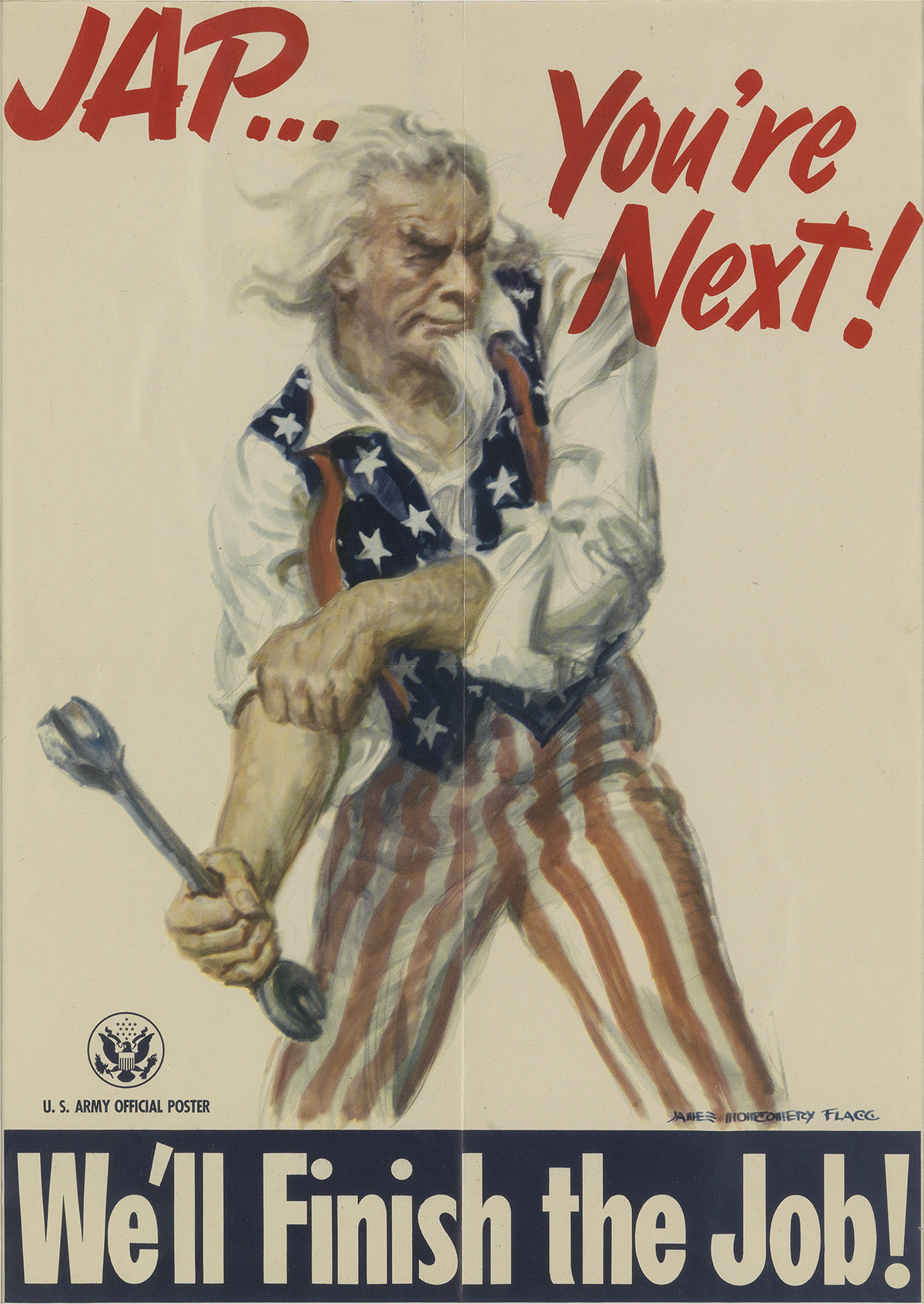 JAMES-MONTGOMERY-FLAGG-(1870-1960)-JAP----YOURE-NEXT--WELL-F