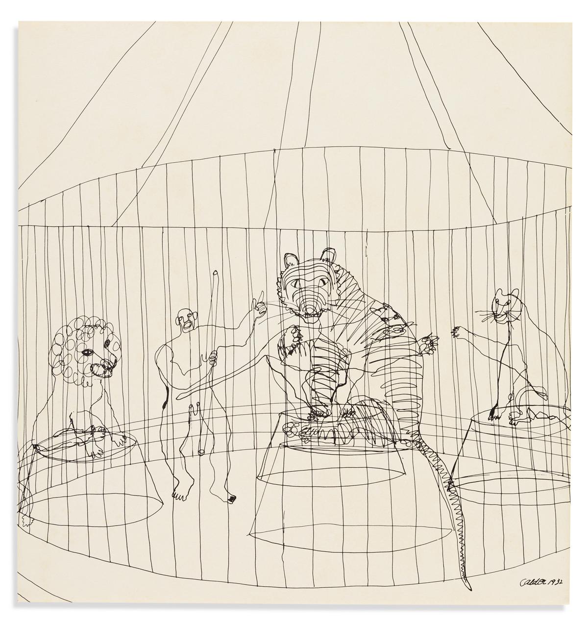 CALDER, ALEXANDER. Calders Circus.