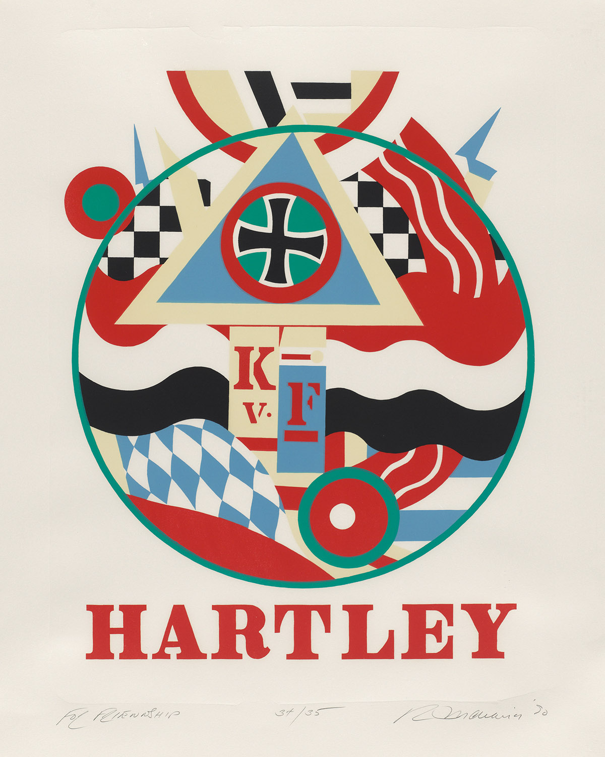 ROBERT-INDIANA-Hartley-Elegies-For-Friendship-