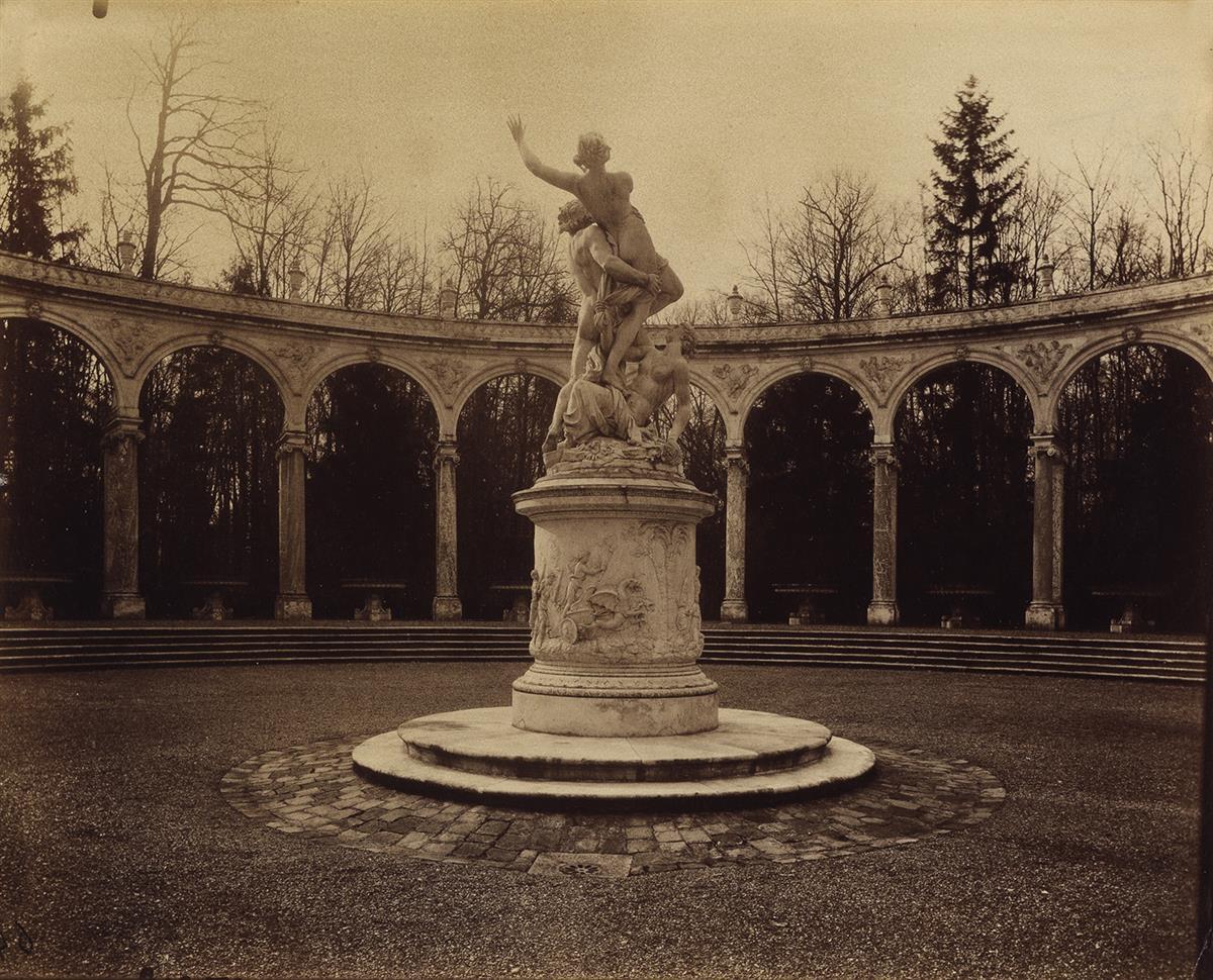 EUGÈNE-ATGET-(1857-1927)-Versailles-Bosquet-de-la-Colonnade