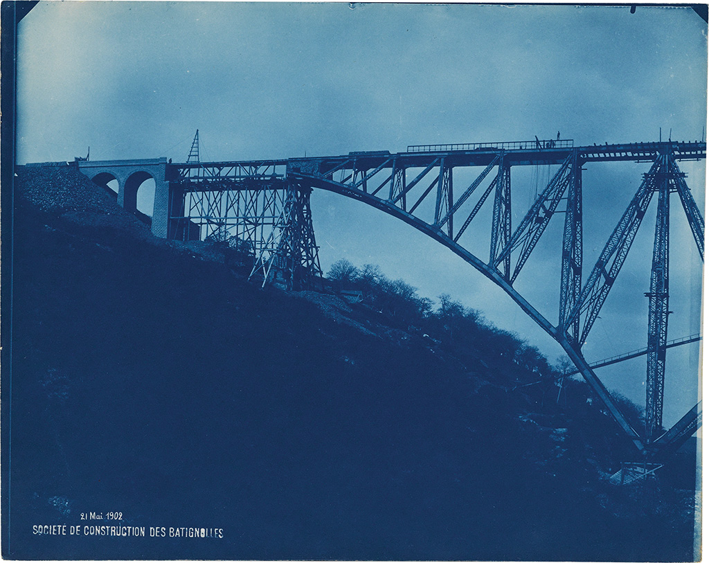 (CYANOTYPES/ENGINEERING) A selection of 63 spectacular cyanotypes documenting