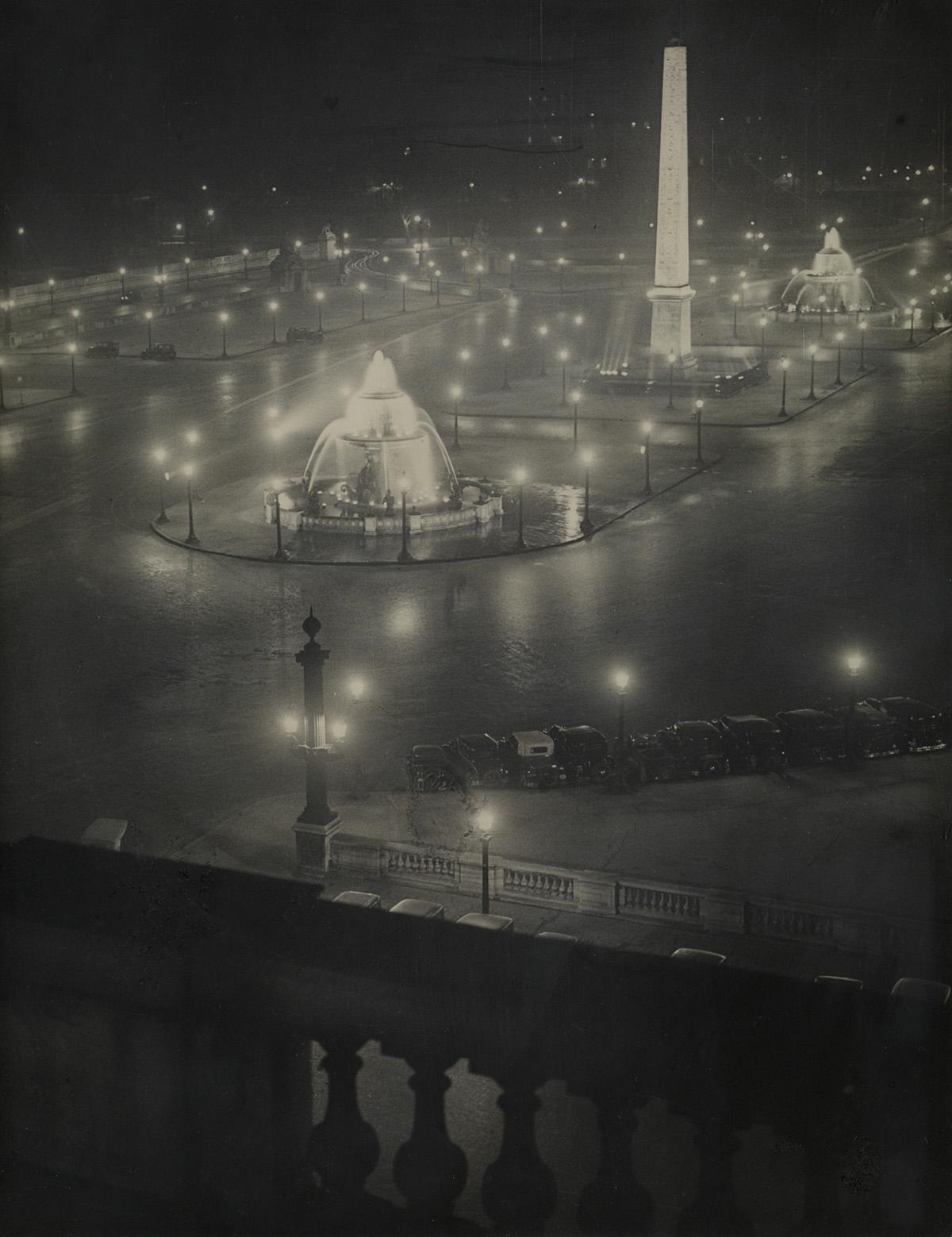 BRASSAÏ-(1899-1984)-Place-de-la-Concorde