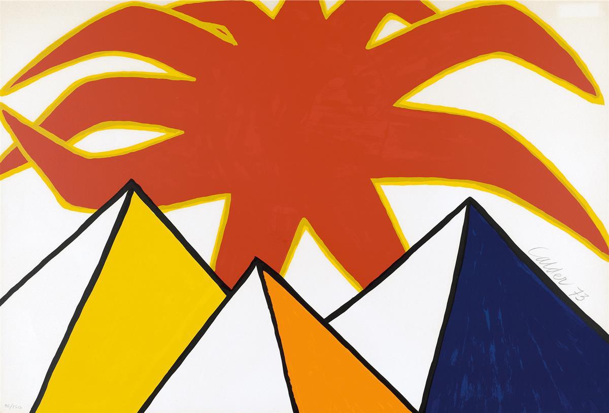 ALEXANDER-CALDER-Pyramids-and-Sun