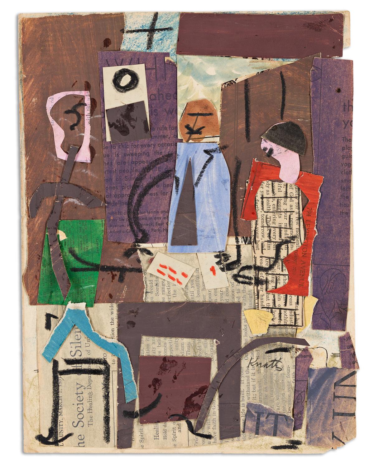 KARL KNATHS (1891-1971) Untitled, (Pair).
