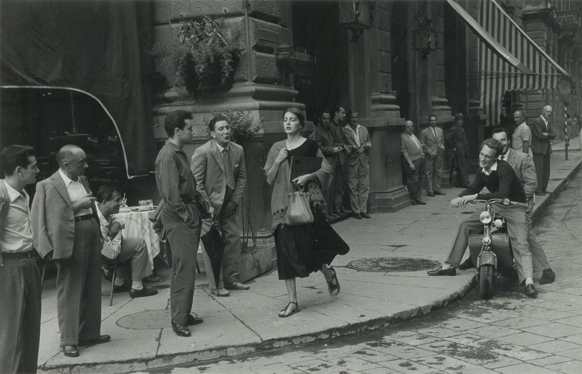 RUTH ORKIN (1921-1985) An American Girl in Italy.